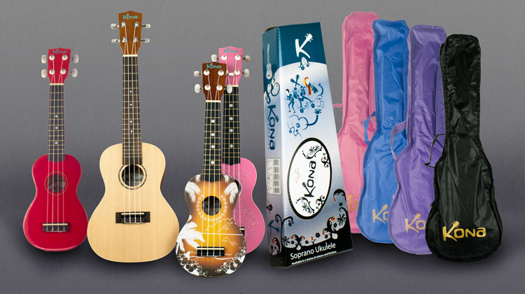 Kona Ukuleles Collection